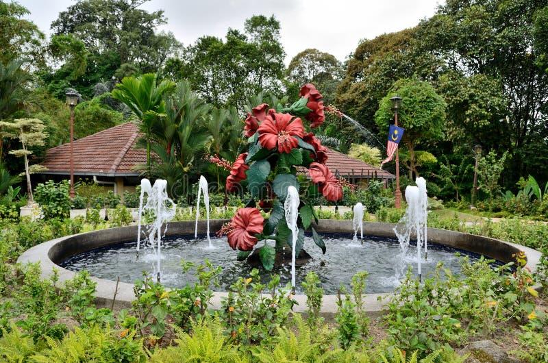 Perdana Lake Gardens stock photo
