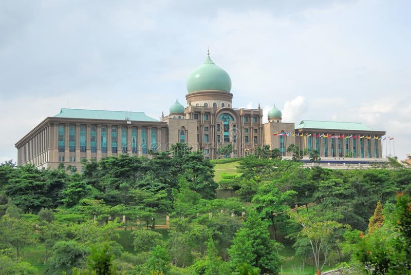 Perdana Putra  @ Putra Jaya. The Perdana Putra is a building in Putrajaya, Malaysia which houses the office complex of the Prime Minister of Malaysia. Located on stock images