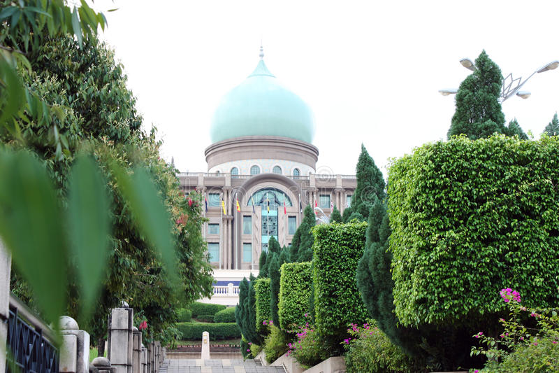 Download Perdana Putra Putrajaya editorial stock image. Image of landmark - 18982284