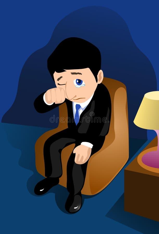 Perdas do revestimento no negócio ilustração royalty free