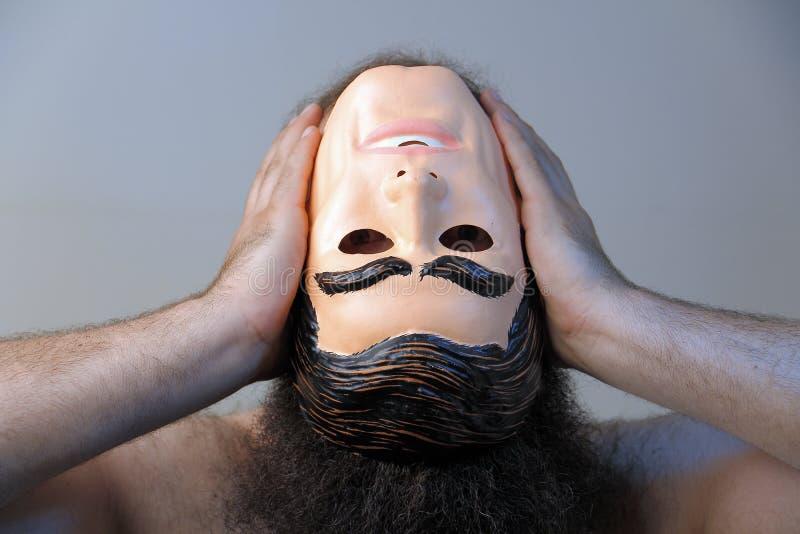 Perder su mente fotografía de archivo libre de regalías