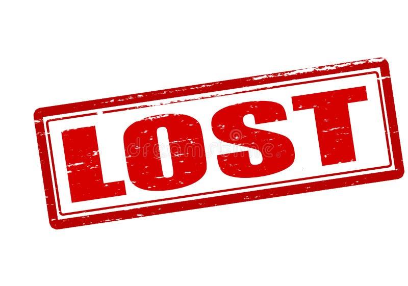 perdido stock de ilustración