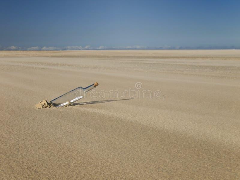 Perdido en un desierto fotografía de archivo libre de regalías
