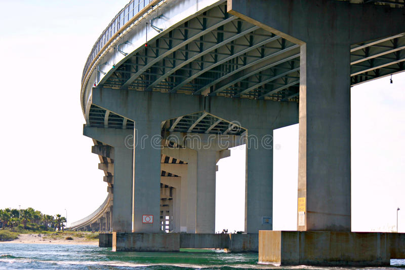 Perdido Pass Bridge royalty free stock photos