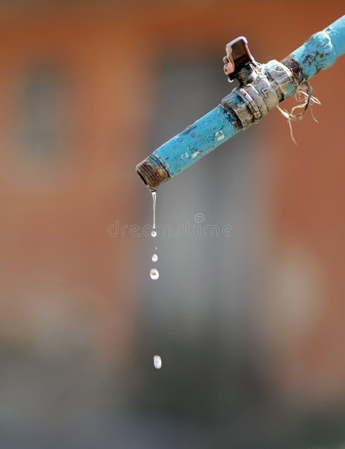 Perdita di acqua immagine stock