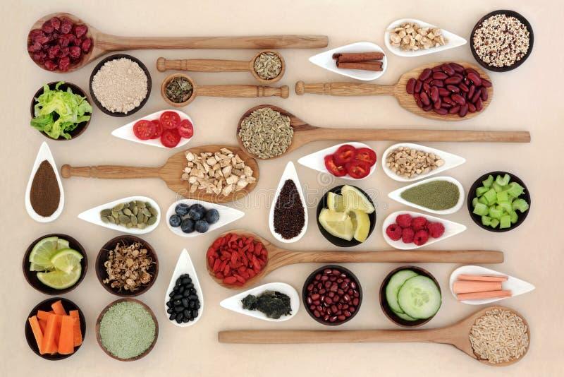 Perdita di peso Superfood fotografie stock