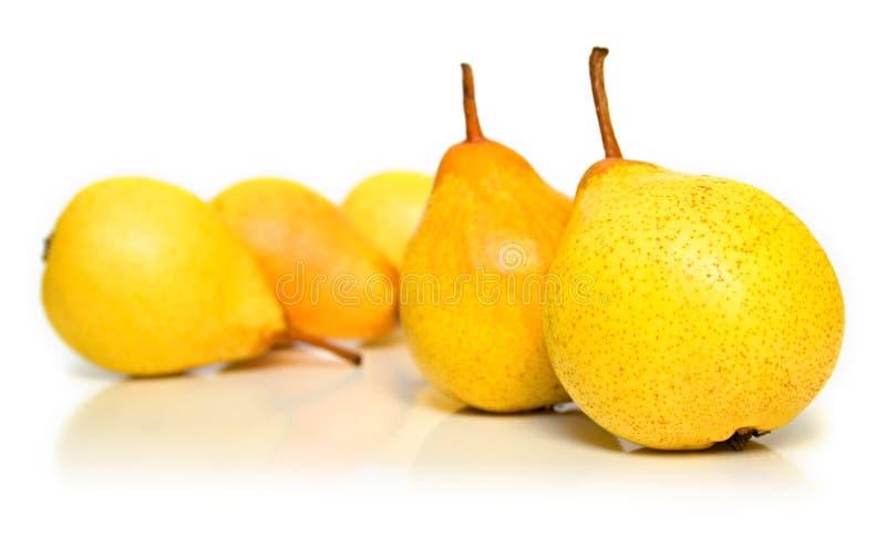 Download Pere 3 fotografia stock. Immagine di yellow, dessert, dolce - 7302960
