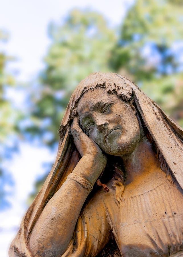 Pere Lachaise Cemetery em Paris foto de stock royalty free