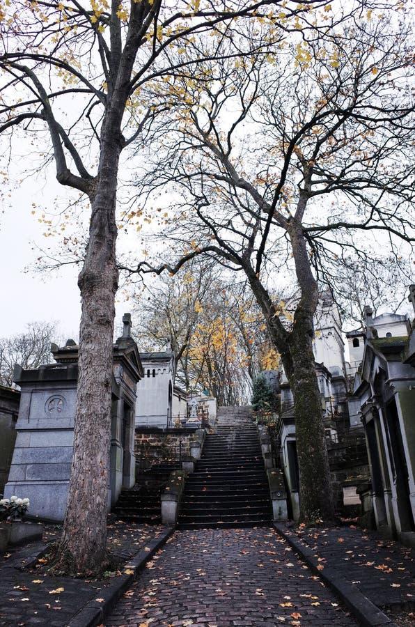 Pere Lachaise cmentarz, Paryż, Francja obraz stock