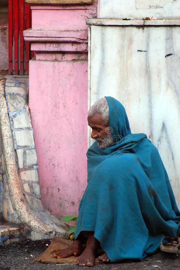 Peregrino, Jammu, la India foto de archivo libre de regalías
