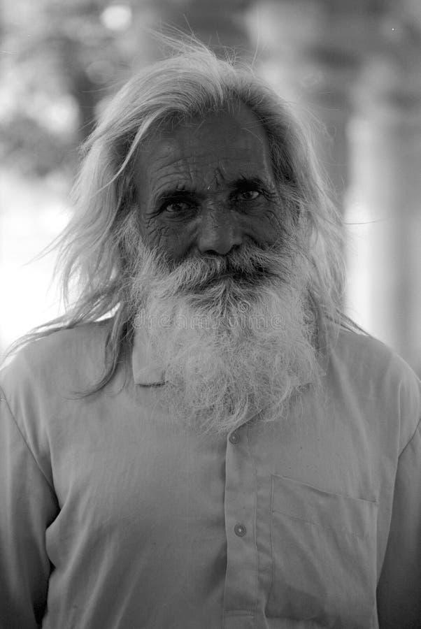 Peregrino que asiste al templo de Tirumala, Andhra Pradesh India foto de archivo libre de regalías