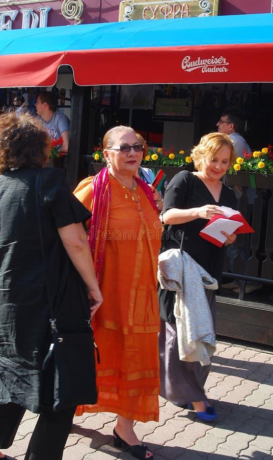 perel sylvia moscow пленки празднества международное стоковая фотография