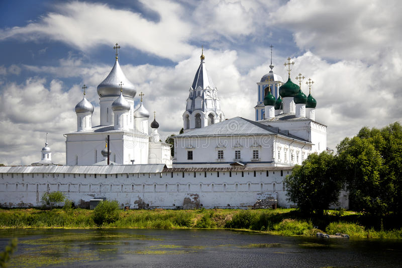 Pereslavl Zalessky。Nikitsky修道院。俄罗斯 库存图片
