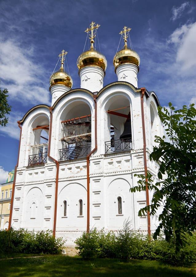 Pereslavl Zalessky, Svyato-Nikolskynonnenkloster. lizenzfreie stockbilder