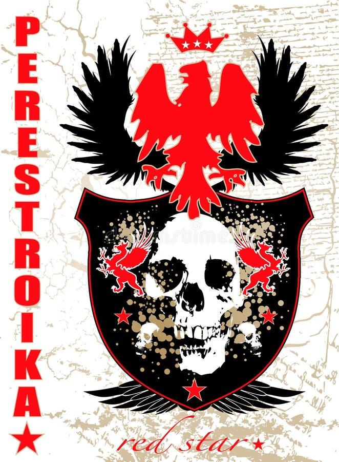 perestroika stock illustrationer