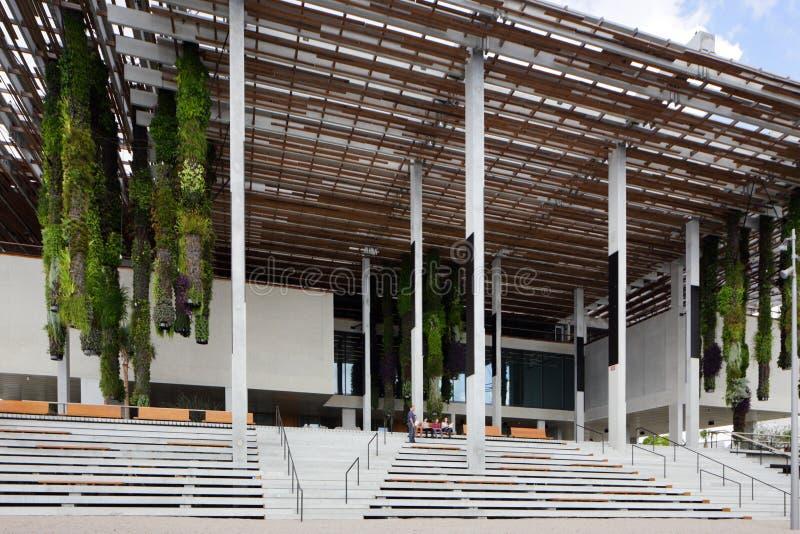 Perez Art Museum Miami imagem de stock