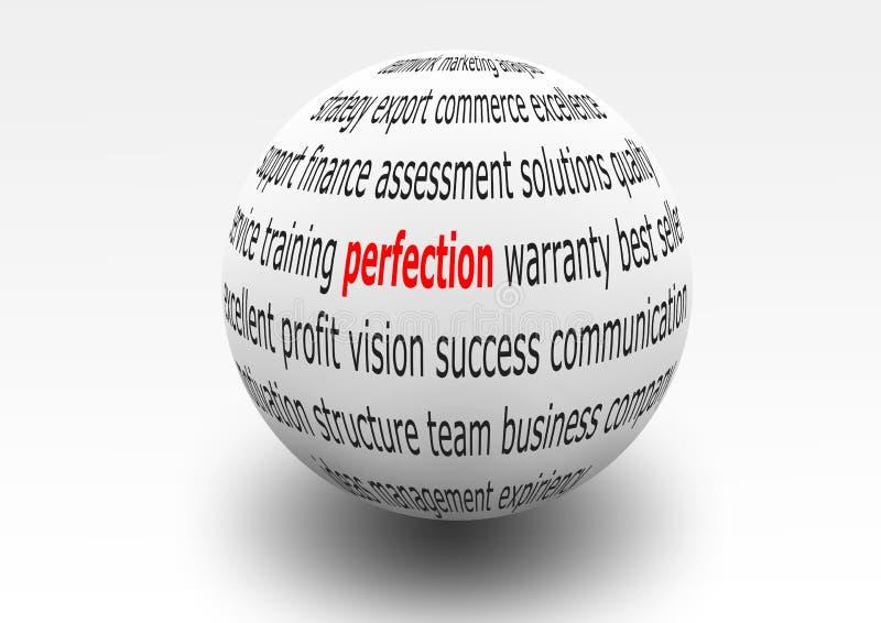 Perfección ilustración del vector