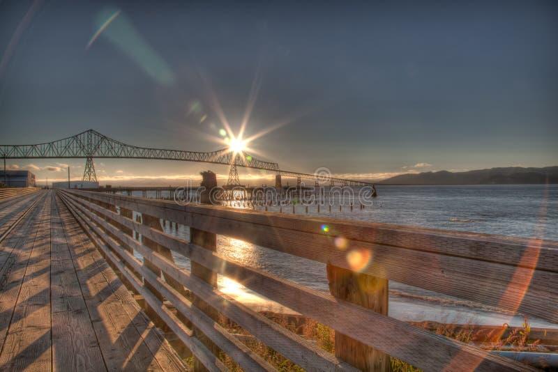 Perfeccione la puesta del sol imagen de archivo libre de regalías