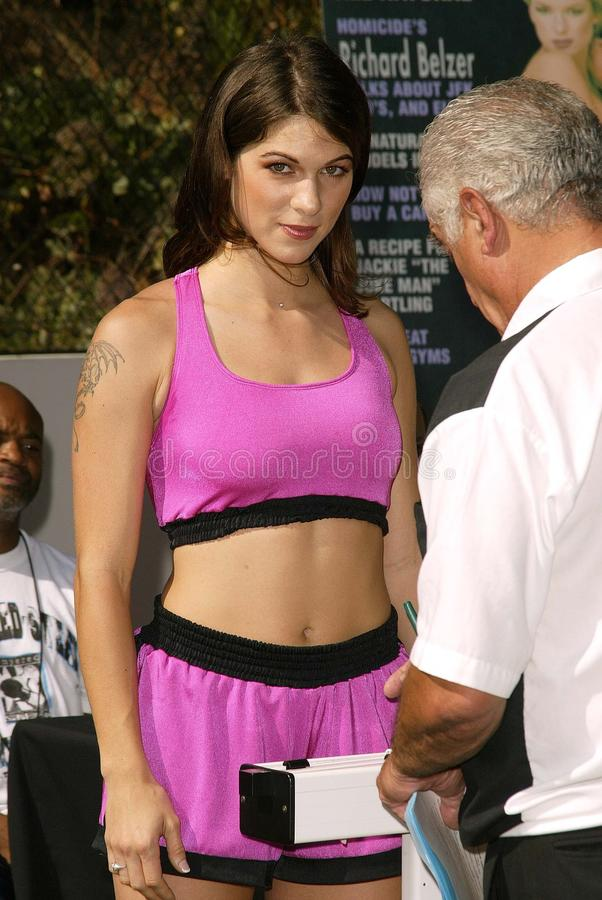 Download Perfect 10 Magazine Boxing Match Weigh-In Editorial Stock Photo - Image: 21516388