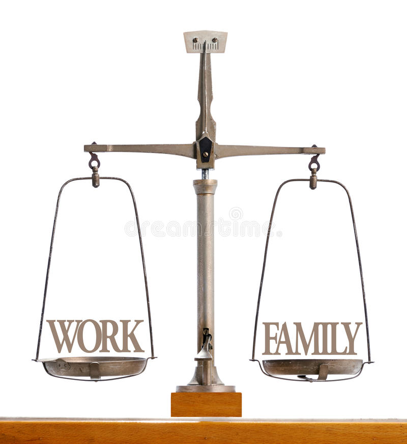 Free Perfect Balance Between Work And Family Stock Photos - 45045933