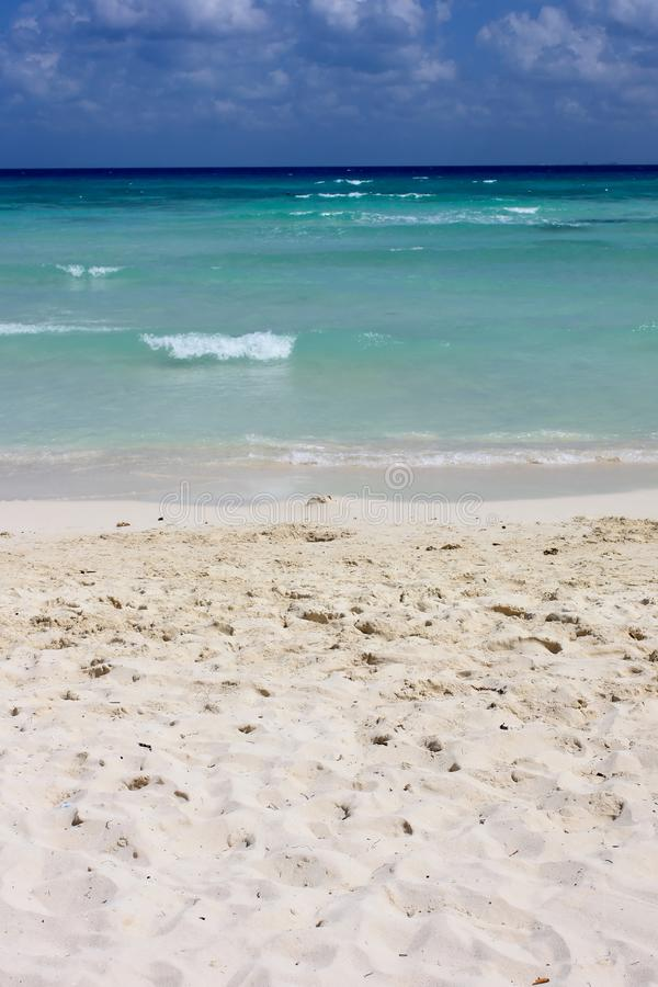 Perfect beach background stock images