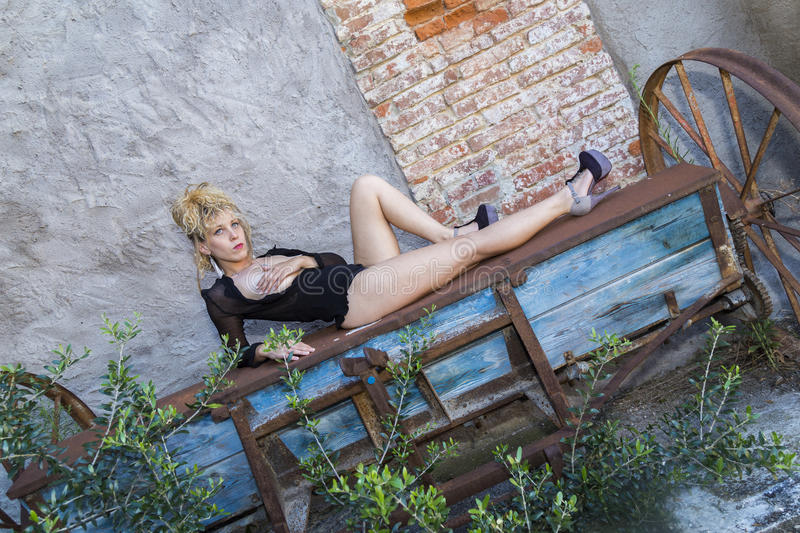 Download Perfect Blonde Stock Photo - Image: 83717622