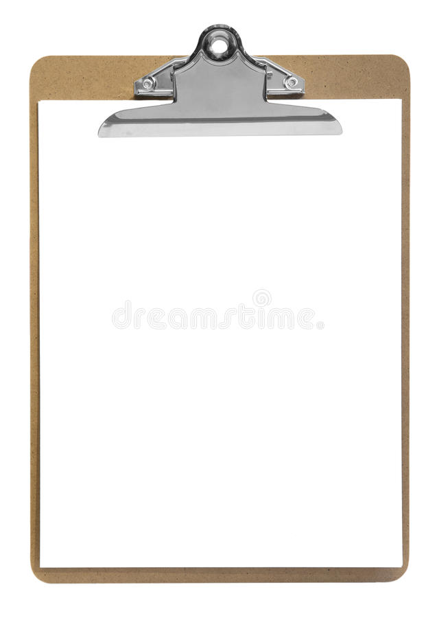Perfect clipboard royalty free stock images