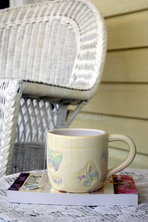 Download The Perfect Cup Of Tea 3 stock image. Image of alone, feminine - 104383