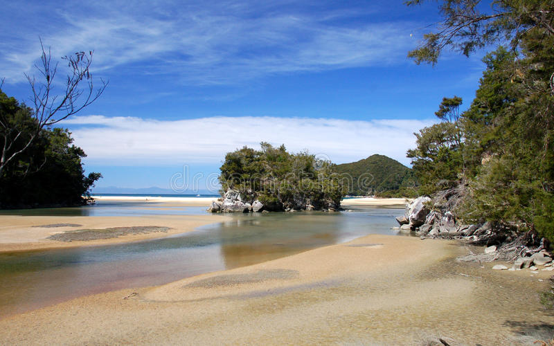 Download Perfect day in Abel Tasman stock image. Image of tropical - 15661279