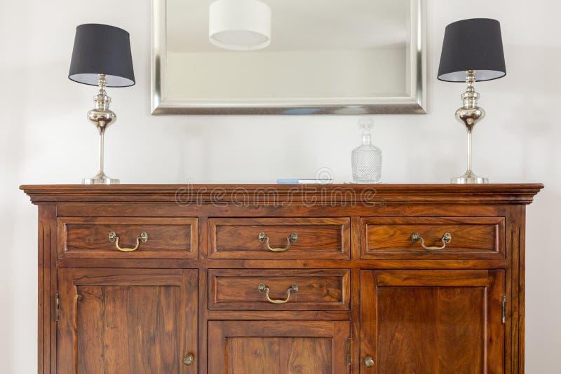 Stylish Dresser With Empty Shelves. Furniture For Wardrobe ...
