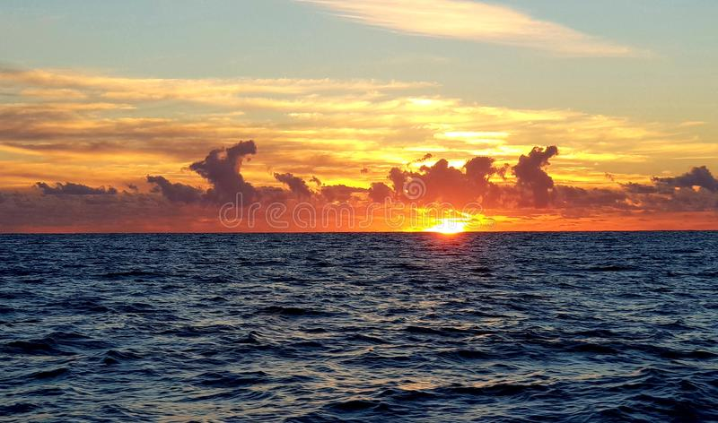 Perfect early morning sunrise royalty free stock photo