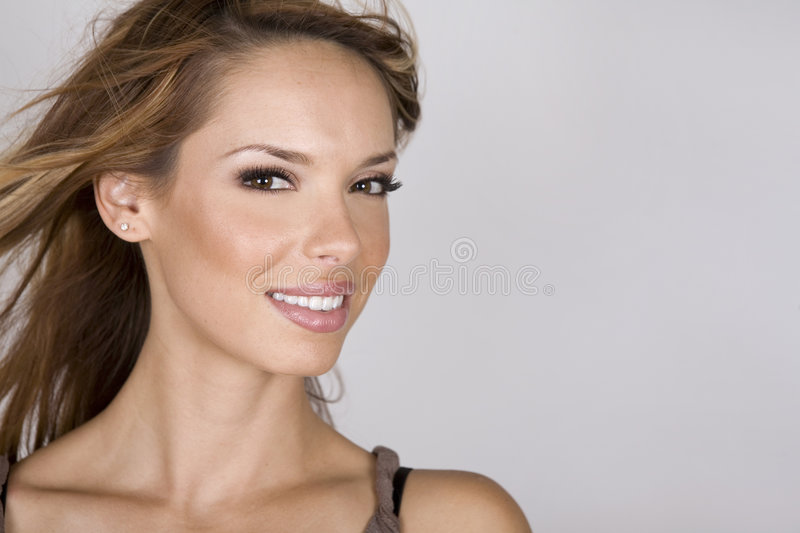 Perfect face stock photo