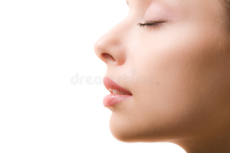 Perfect face royalty free stock photo