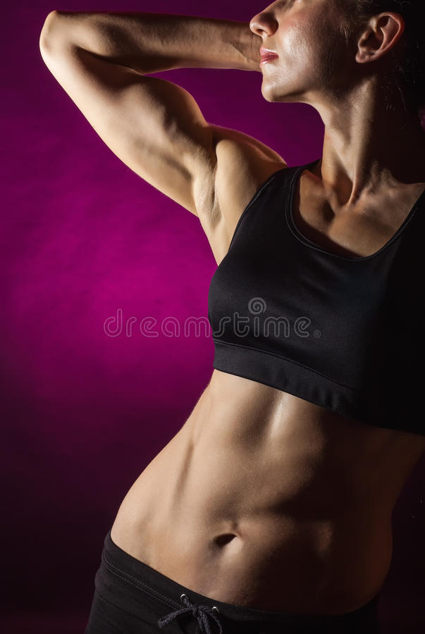 Download Perfect female body stock image. Image of girl, athletic - 25408407