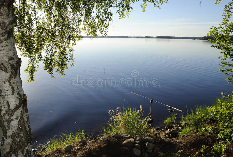 Perfect Fishing Place Royalty Free Stock Images