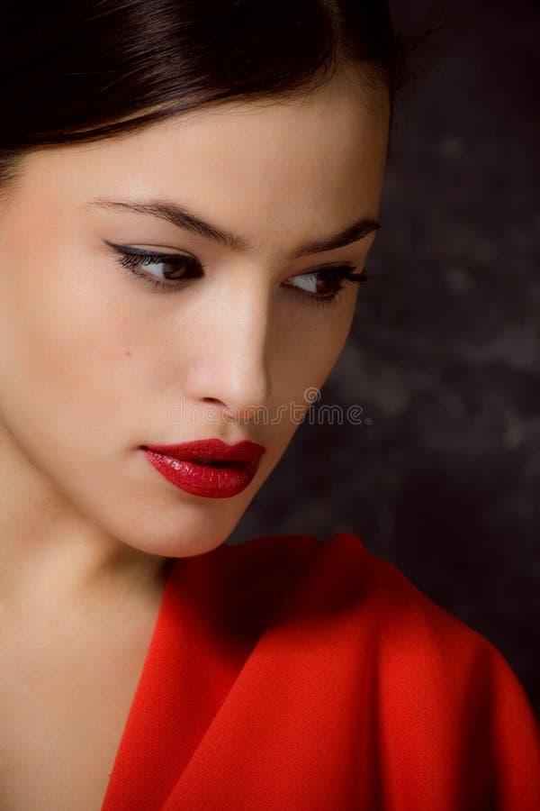 Perfect gezicht royalty-vrije stock fotografie