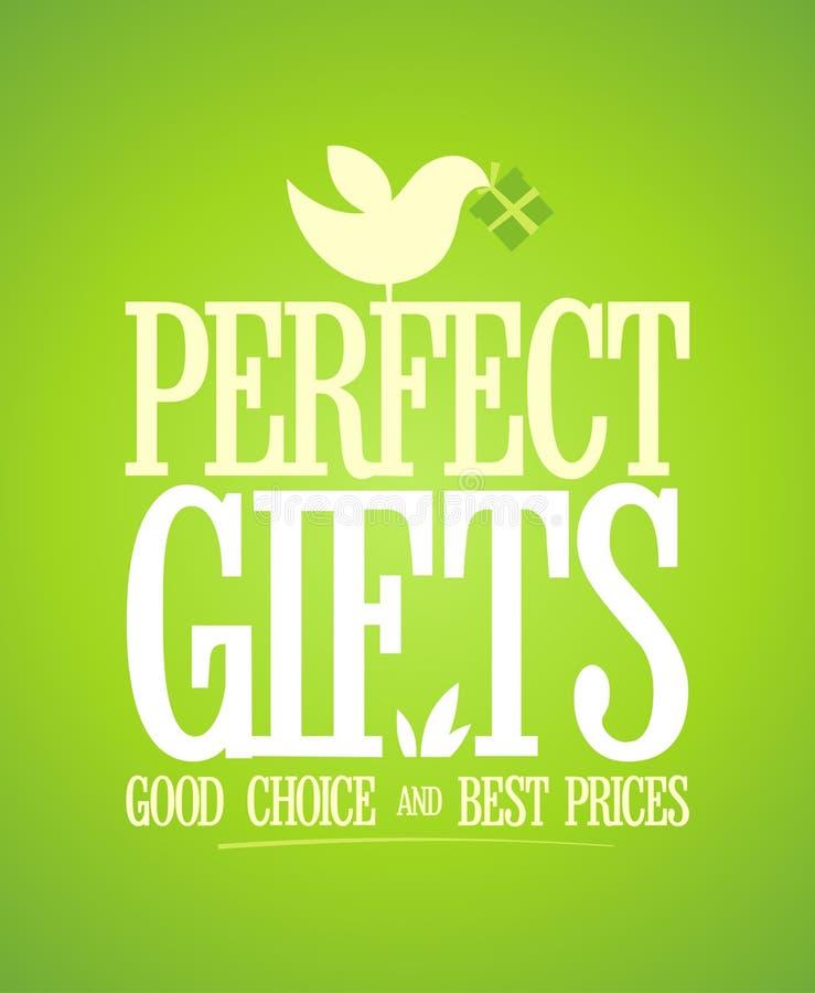 Download Perfect giftenontwerp. vector illustratie. Illustratie bestaande uit best - 29506892