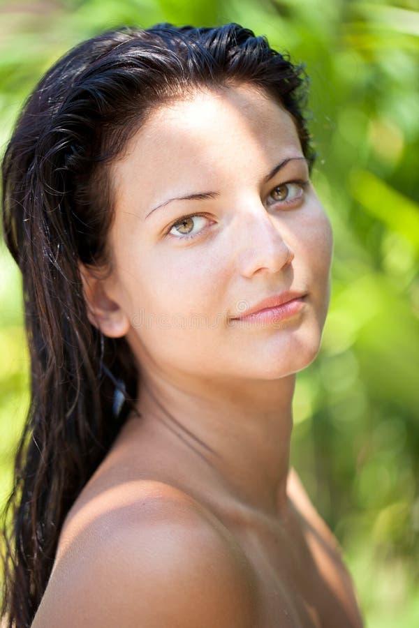 Perfect girl stock image. Image of enjoyment, resort