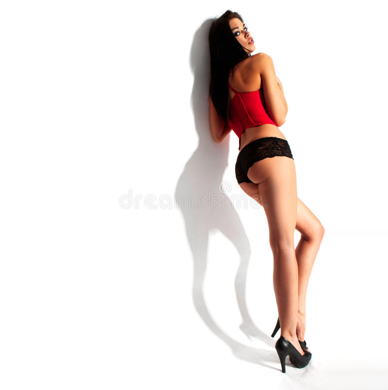 Perfect Girl S Body Royalty Free Stock Image
