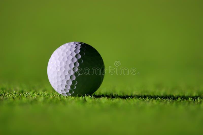 Perfect Golf Ball stock photo