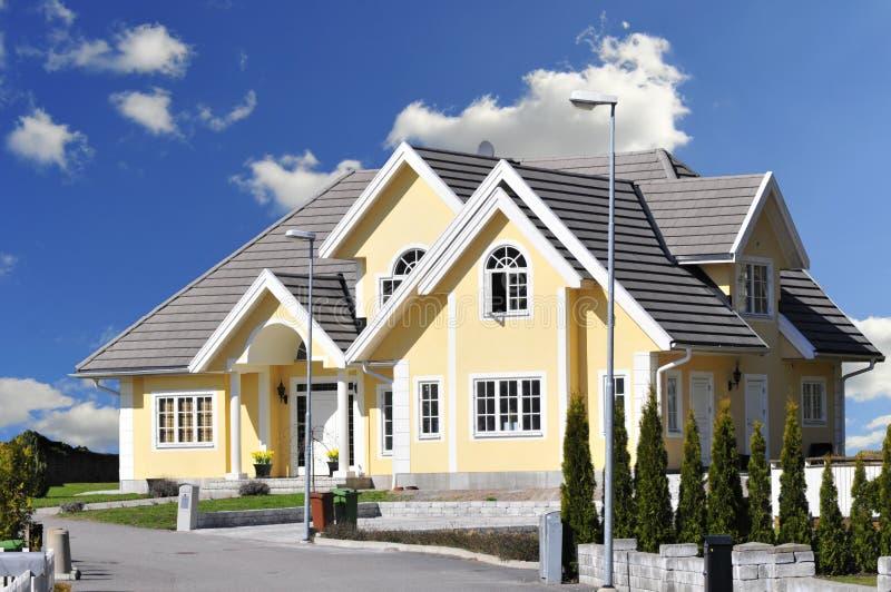 Perfect home stock image image of architecture roof for Progettando la tua casa perfetta