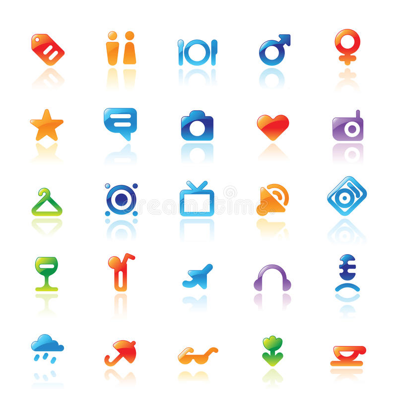 Download Perfect icons for travel stock vector. Illustration of business - 13684703