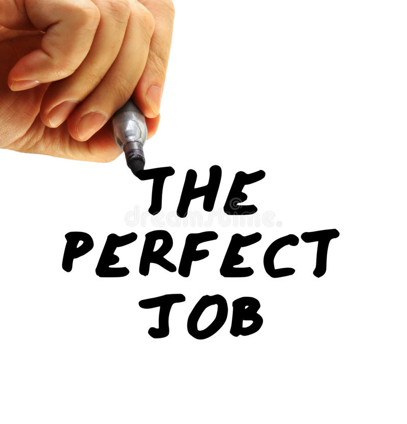 Download The Perfect Job Royalty Free Stock Photos - Image: 12153888