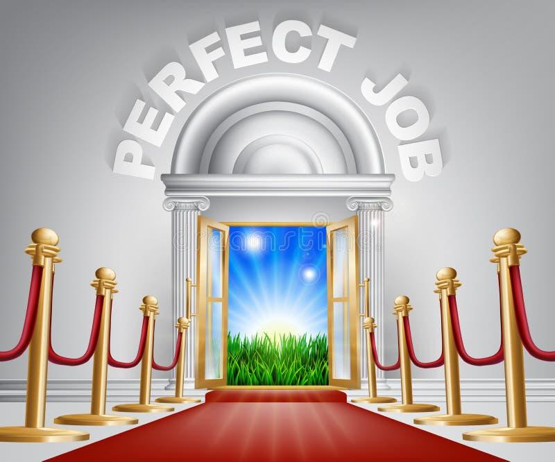 Perfect Job concept vector illustration