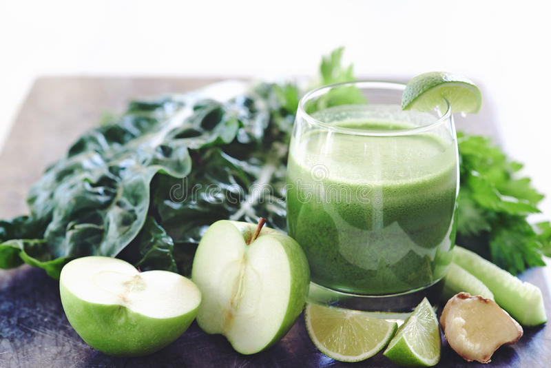 The perfect juice cleanse stock photography