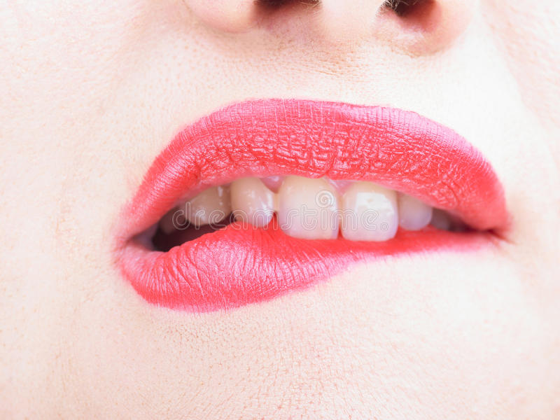 Perfect Lips stock images