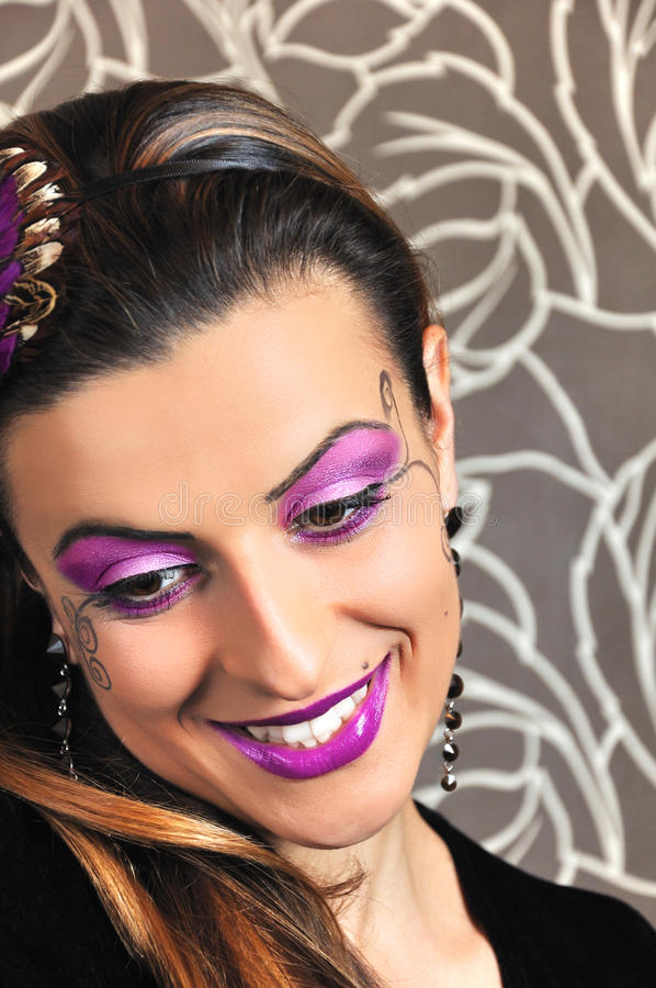 Download Perfect make up stock image. Image of close, cosmetic - 20576939