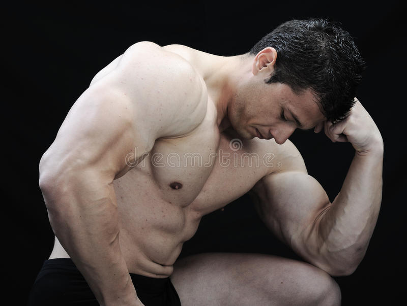 The Perfect Male Body Stock Photo
