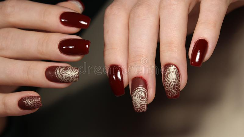Gel Nail Polish Designs On Natural Nails | Hession Hairdressing