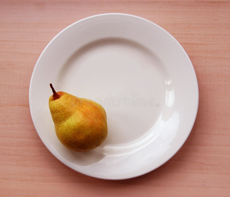 Perfect Pear stock image